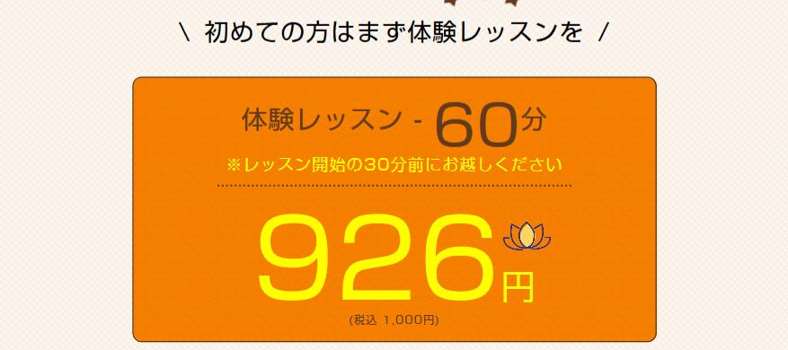 ヨガ横浜男性OKの体験レッスン例
