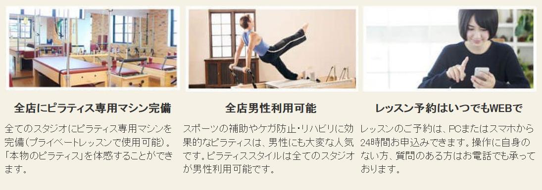横浜ピラティスのマシン例