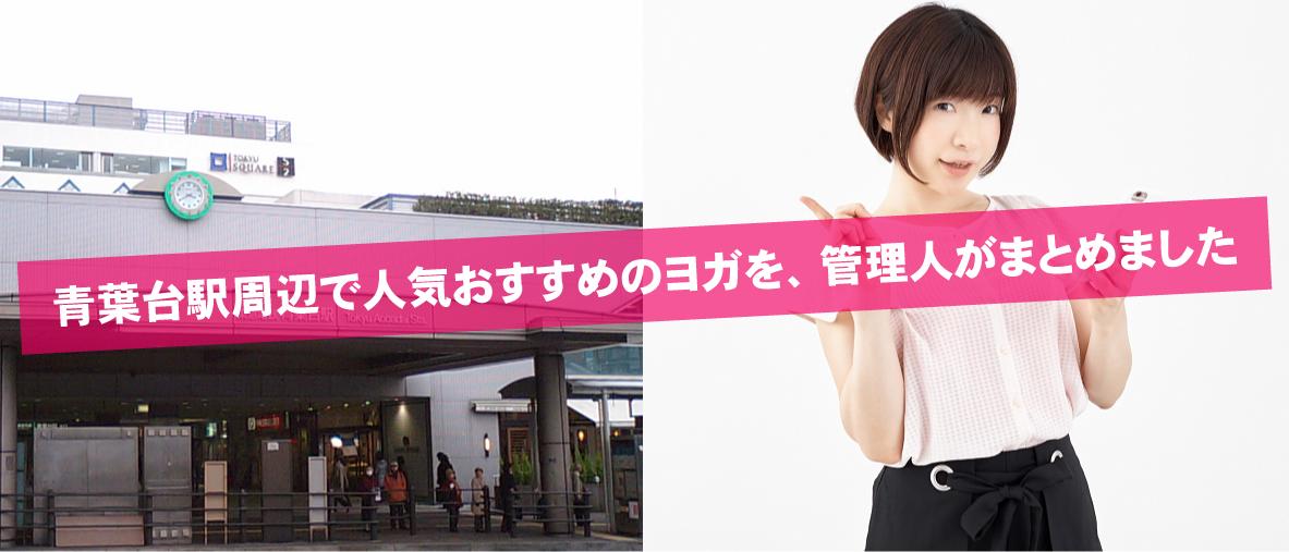 青葉台駅周辺で人気おすすめのヨガを、管理人がまとめました