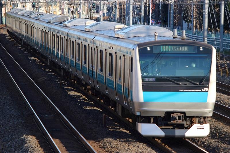 JR京浜東北線沿いの横浜ヨガ