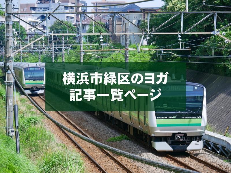 「横浜市緑区」のヨガスタジオ記事一覧
