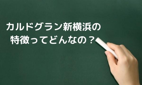 カルド新横浜の特徴ってどんなの?